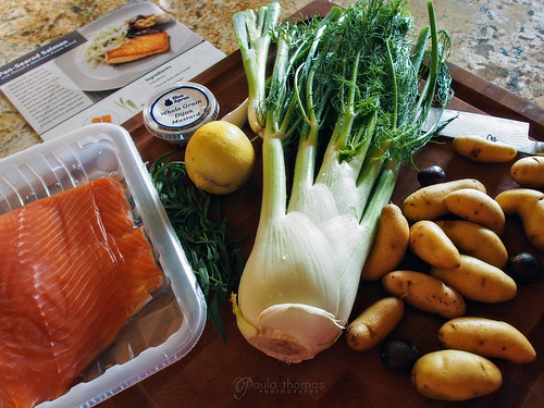 Pan Seared Salmon Ingredients