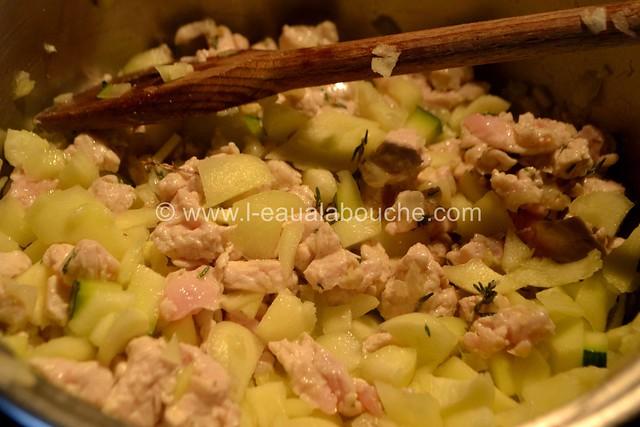 Courgettes Farcies à la Dinde © Ana Luthi Tous droits réservés 007_GF