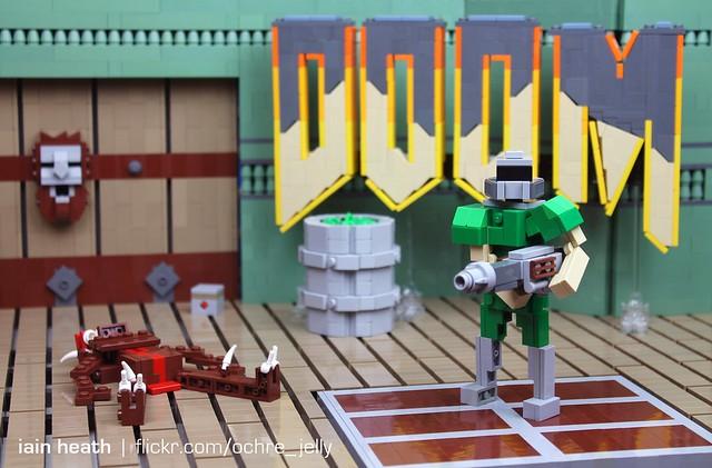 LEGO DOOM: Hurt me plenty