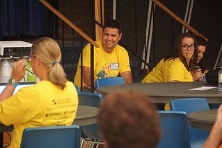 Yellow Shirts at #edCampBarrie