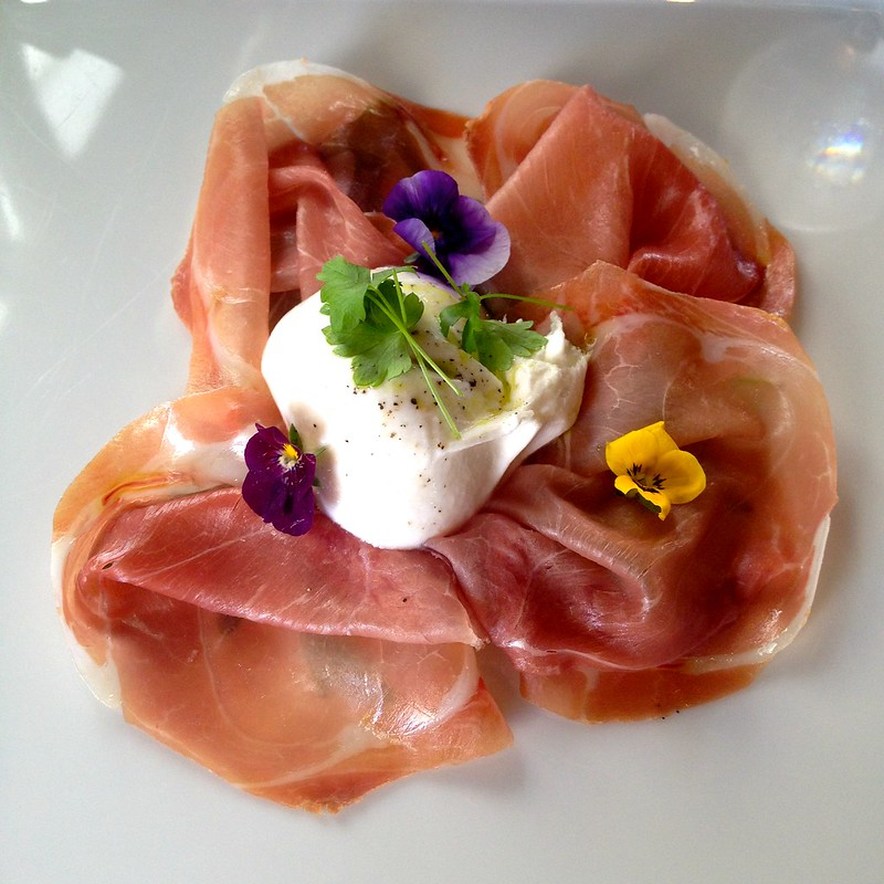 il Lido_Parma Ham with Artisan Burrata