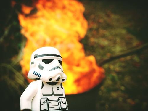 Stormtrooper September #29 - Twisted fire starter!