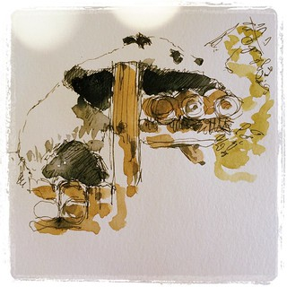 #japon #carbon #platinum #watercolor #urbansketch #ueno #zoo