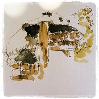 #japon #carbon #platinum #watercolor #urbansketch #ueno #zoo