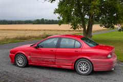 L'état de ma Jaguar X-Type après la pluie... - Photo of Broussy-le-Grand