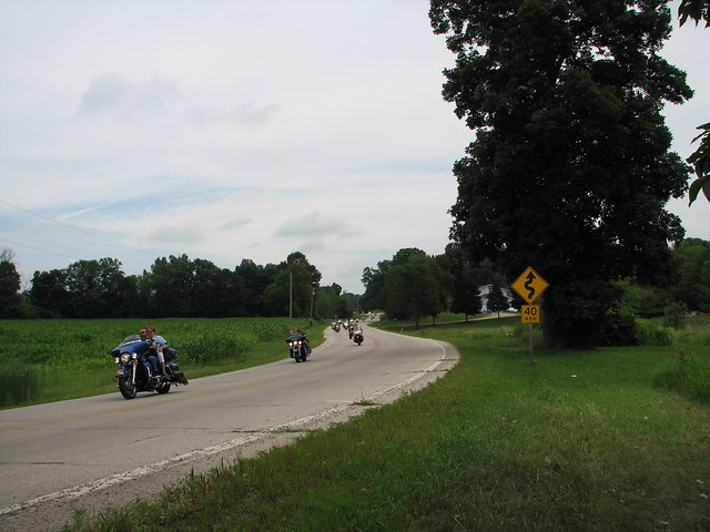 2014 Spirit of the Midwest Rides for Guides Motorcycle Poker Run