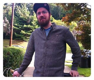 Steve's Gray Shirt