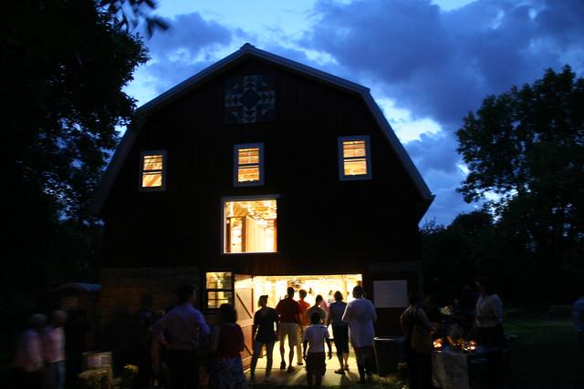barn gathering