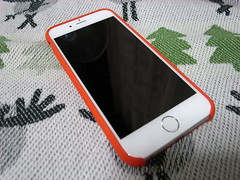 iPhone 6 純正シリコンケース (PRODUCT)RED
