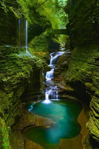 travel nature waterfall finger lakes newyorkstate fingerlakes rainbowfalls stonebridge watkinsglenstatepark sonyslt