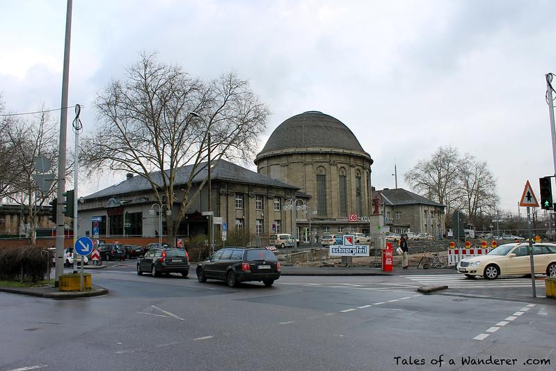 KÖLN - Bahnhof Köln Messe/Deutz