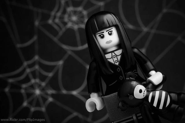 A Spooky Portrait of Spooky Girl