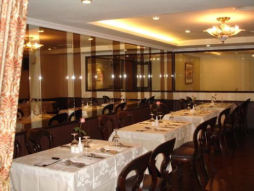 高雄新國際西餐廳的成長-改裝後大包廂