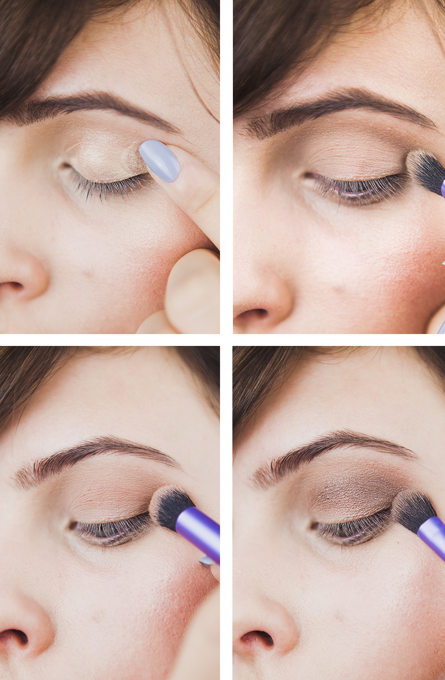 Smokey Nudes An Everyday Eye Tutorial