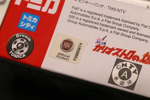 TOMICA FIAT500 カリオストロの城_02