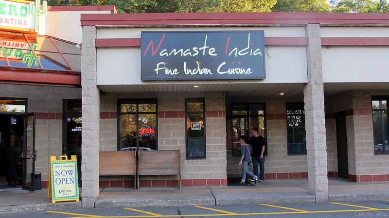 Namaste India exterior