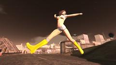 Yellow Rain Boots!