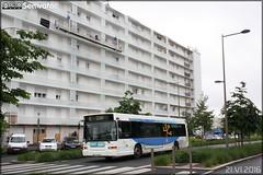 Heuliez Bus GX 317 - SEMTAN (Société d'Économie Mixte des Transports de l'Agglomération Niortaise) / TAN (Transports de l'Agglomération Niortaise) n°109