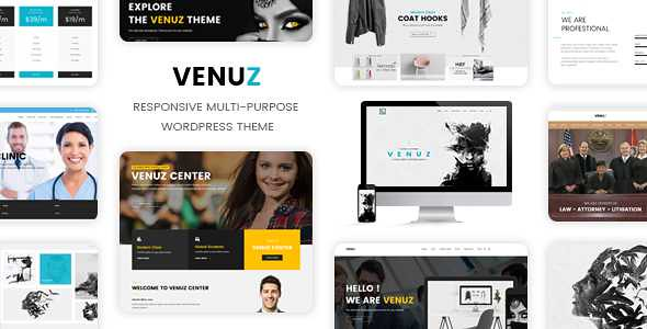Venuz WordPress Theme free download