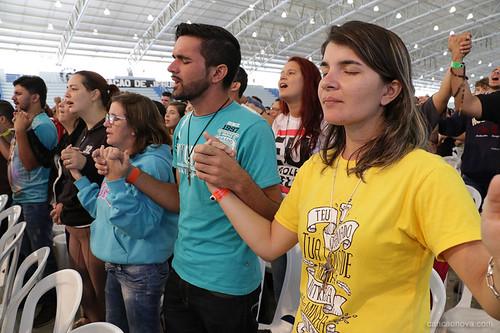 Acampamento Jovens Sarados 2017 - Pregação com Pe.Roger Luis