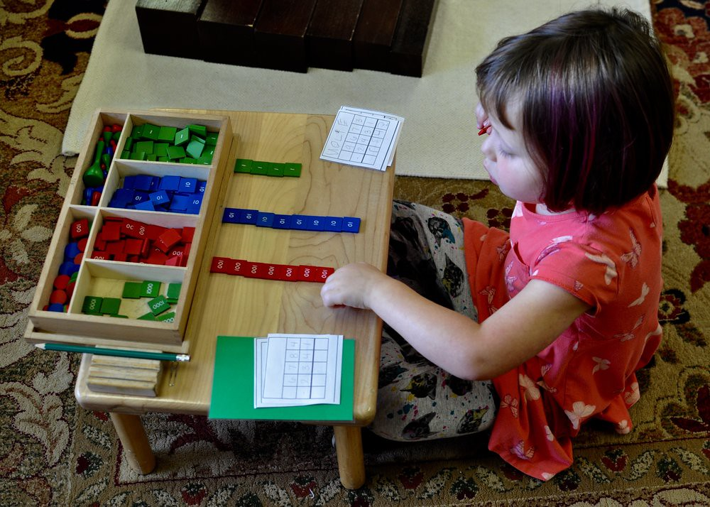The Stamp Game Is A Fixture In Primary Classroom Much Coveted Material That Reinforces Knowledge Mathematical Operations Of Addition