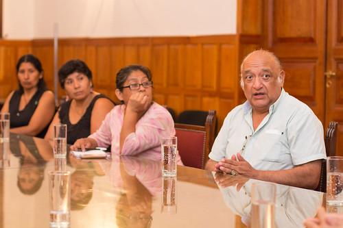 """Reunión junto a """"Victimas de la Impunidad"""""""
