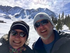 Mayflower Gulch is a gorgeous place in the winter, too! #springbreak #snowshoe #mayflowergulch #colorado
