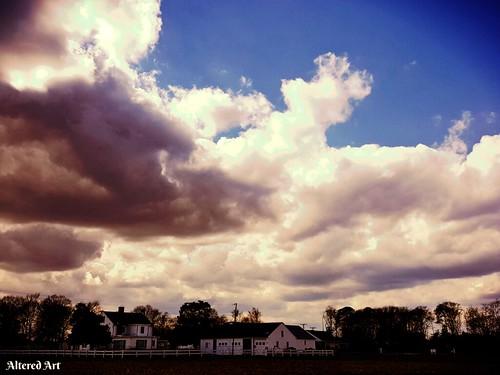 clouds skies skyscape sussexcountydelaware delmarva scenic cloudscape sky coastaldelmarva southerndelawaware delaware delmarvapeninsula scenery landscape