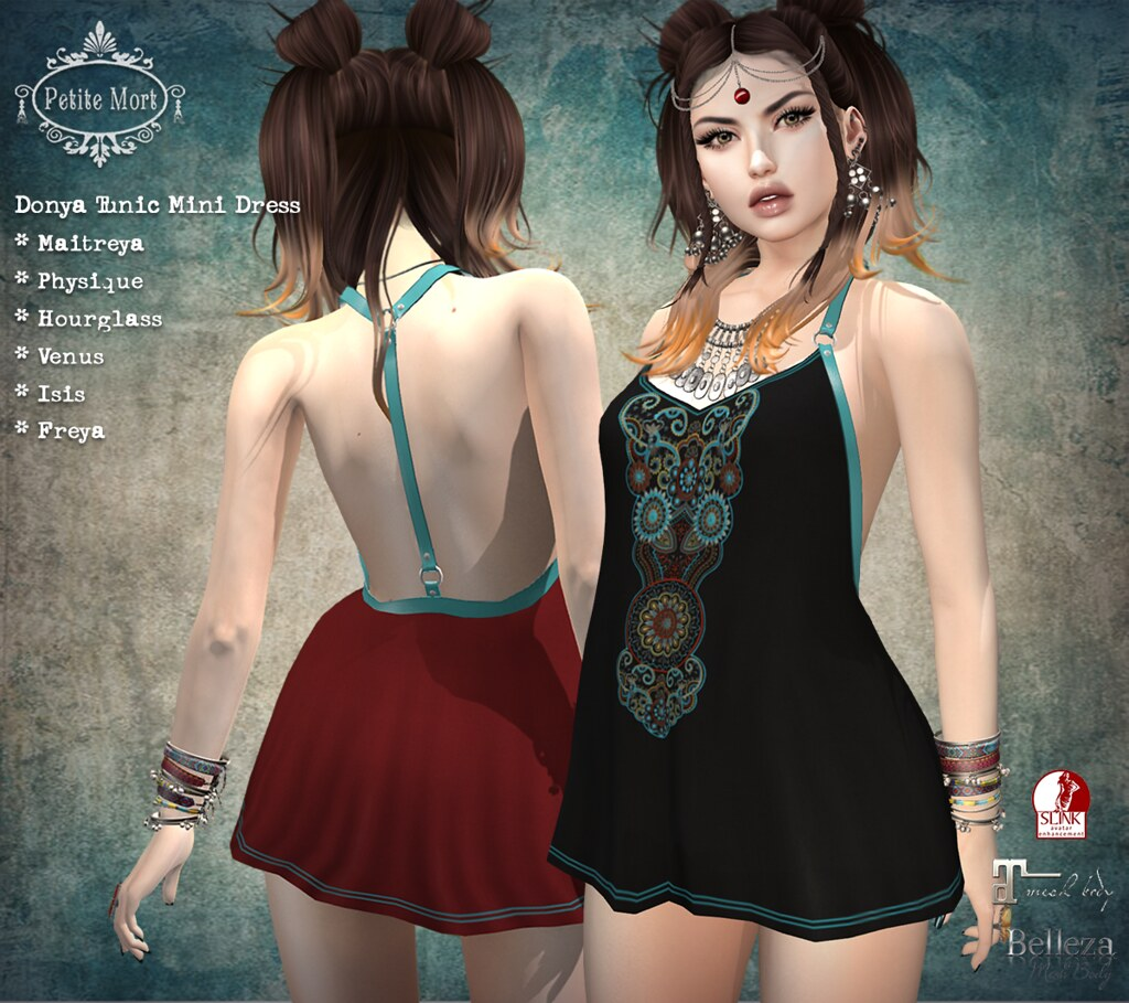 Petite Mort- Donya Dress - SecondLifeHub.com