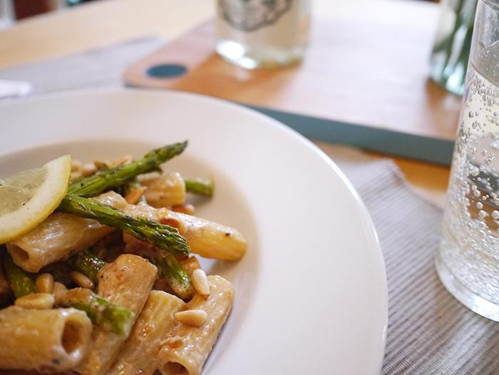 degustabox recipe asparagus and lemon pasta 3
