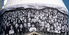 Installation de JR #AuPanthéon