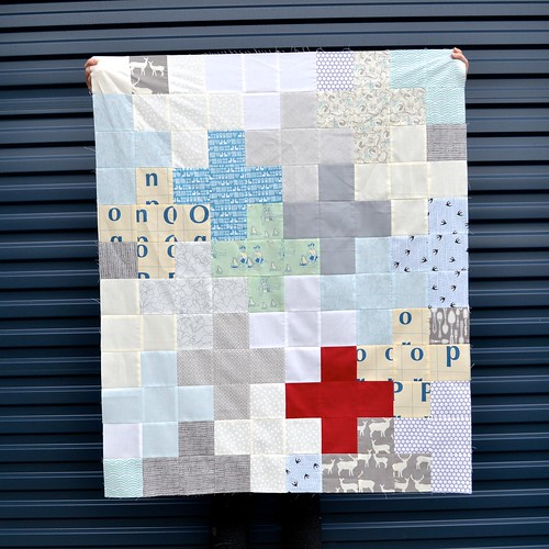 Winter Plus quilt top