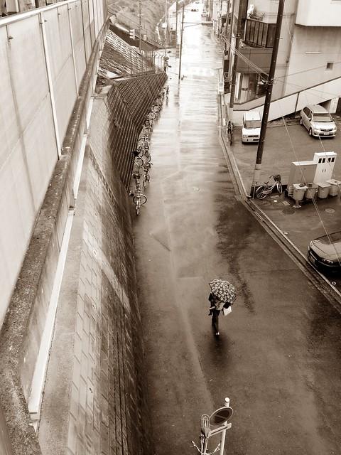 Raining 雨降り