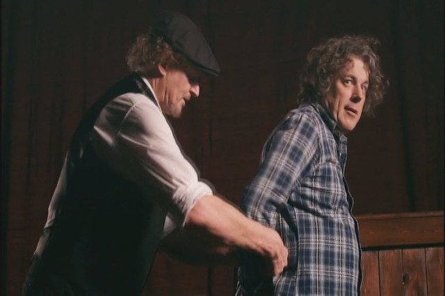 Richard Sherry and Alan Davies