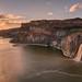 Evening Mood @ Shoshone Falls by Ansgar Hillebrand