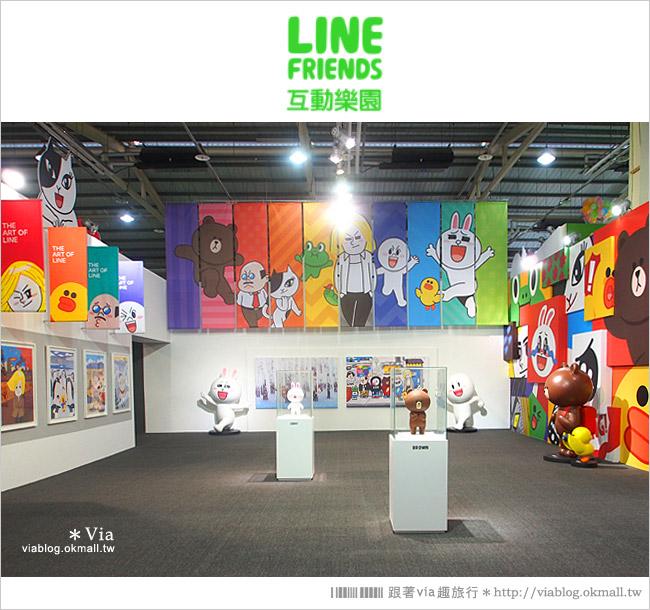 【台中line展2014】LINE台中展開幕囉!趕快來去LINE FRIENDS互動樂園玩耍去!(圖爆多)15