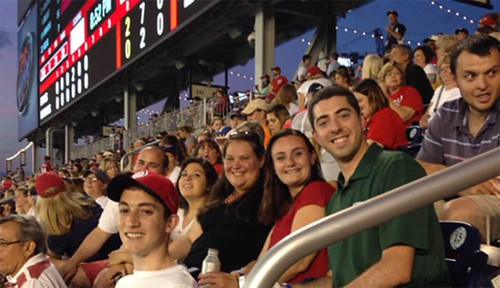 Stetson Night with the Nationals by Office of Alumni Engagement