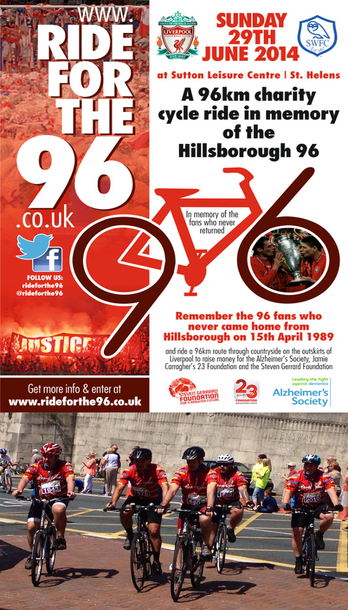 Ride For The 96