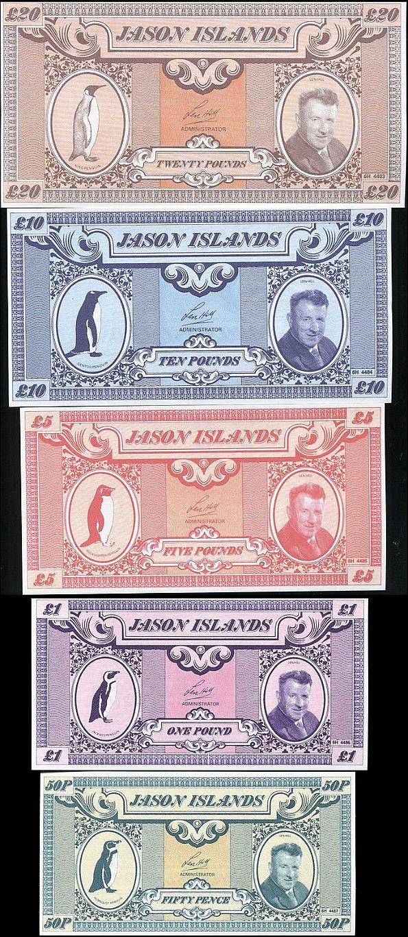 Jason Island 1979, sada 5 ks, 50 pencí - 20 libier