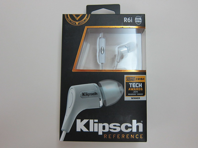 Klipsch Reference R6i - Box Front