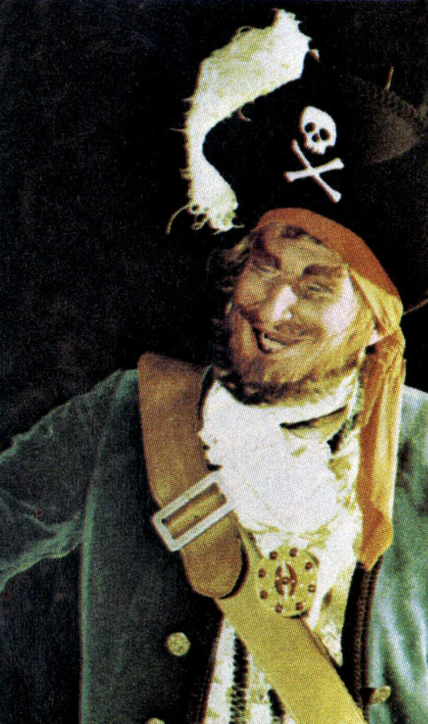 The Auctioneer, Pirates of the Caribbean, 1973