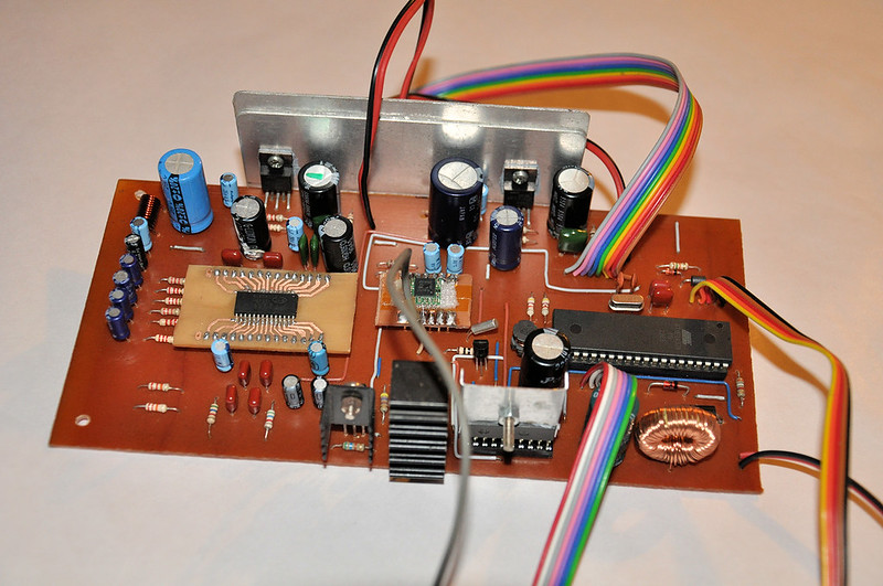 Prototype version of digital audio amplifier