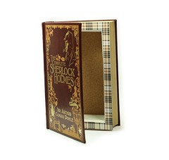Sherlock Holmes Magnet Closure Hollow Book Handmade Booksafe