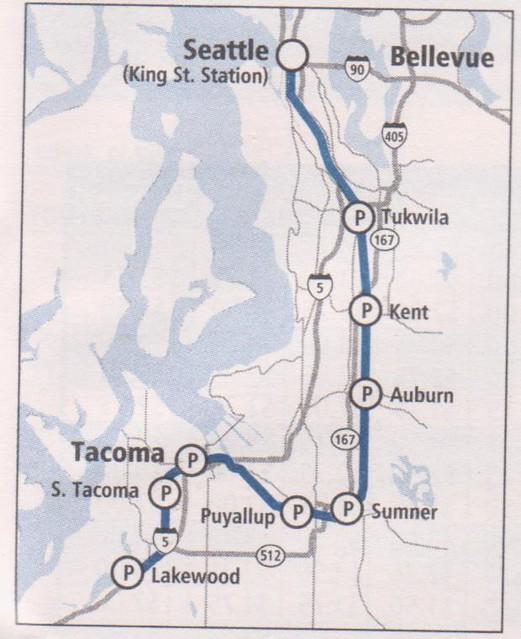 SoundTransit Sounder 2014 Lakewood Map