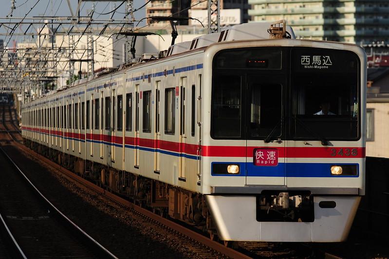 1656K 3438 Rapid Nishi-Magome
