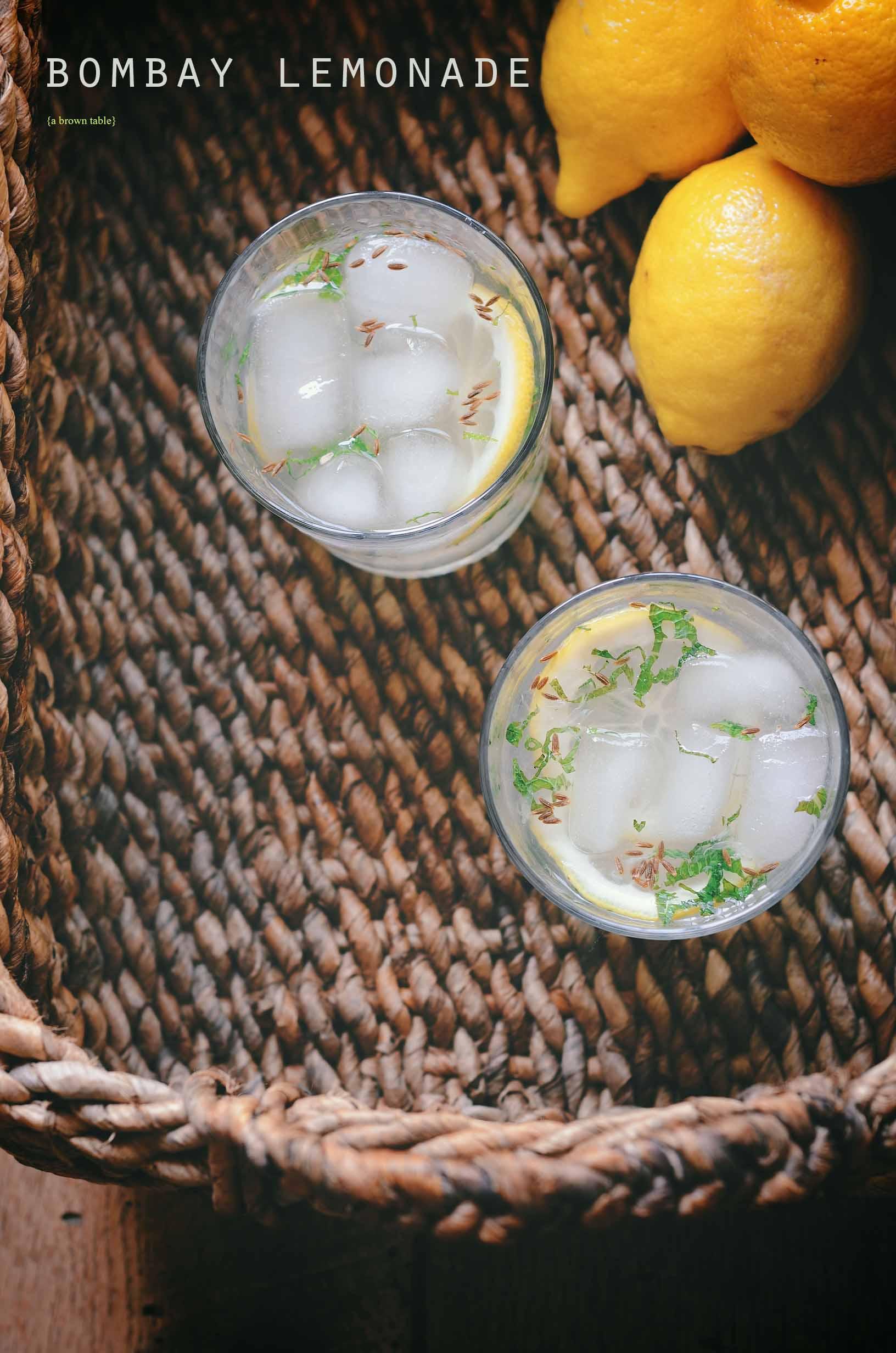 bombay style lemonade