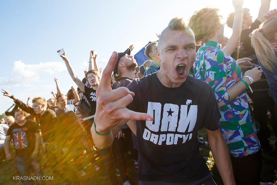 Музыкальный фестиваль мост: Guano Apes, Kasabian, Ленинград