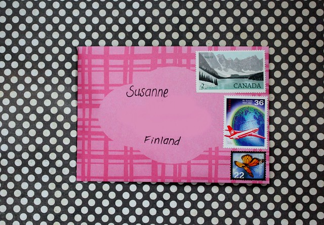Pink Outgoing mail, brinnertime.com