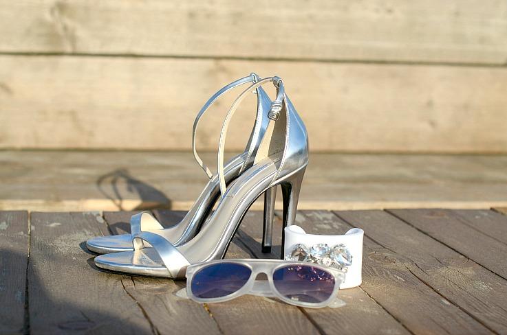 DSC_4964 Zara metallic strap heels, Myca Couture bracelet, Mango sunglasses