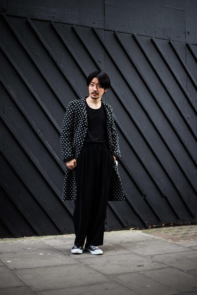 Street Style - Katsu, London Collections: Men